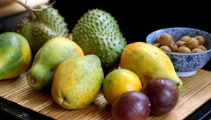 organic tropical fruits